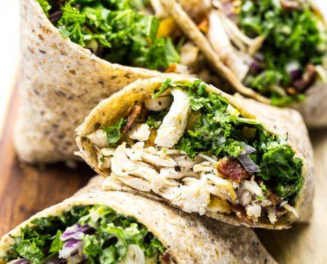 Chicken-and-Kale-Caesar-Wraps-7